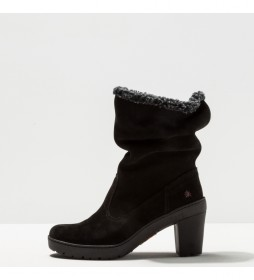 Botines de piel 1757 Lux Travel negro -Altura tacón: 8.5 cm-