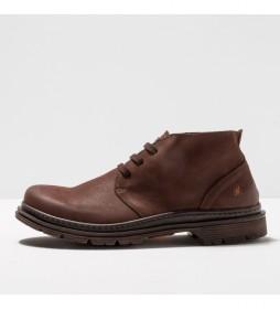 Zapato de piel 1890 Birmingham marrón