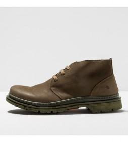 Zapato de piel 1890 Birmingham caqui