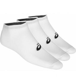 Pack de 3 Calcetines Ped blanco