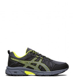 Asics Gel Venture 7 GS black, fluoride trail running shoes