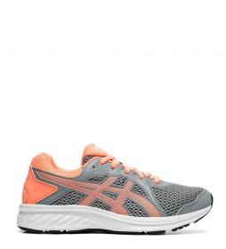 Asics Running Shoes Jolt 2 GS grey, coral / 295g