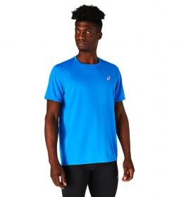 Camiseta Katakana  azul electrico