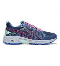 Zapatillas Running Gel-Venture 7 GS azul