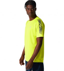 Camiseta Icon Manga Corta amarillo