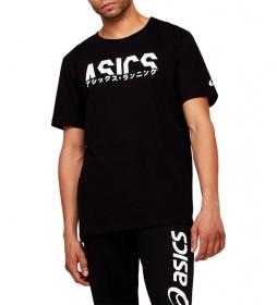 Camiseta Katakana Graphic negro