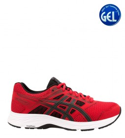 Asics Running Shoes Gel Contend 5 red, grey / 300g