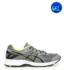 Asics Zapatillas de running Gel-Galaxy 9 Gs gris