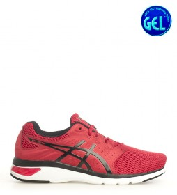 Asics Running Shoes Gel Moya red