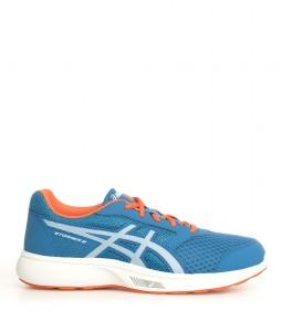 Asics Chaussures de course Stormer 2 bleu
