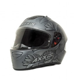 Axxis Casco integral Stinger Daydead F8 gris