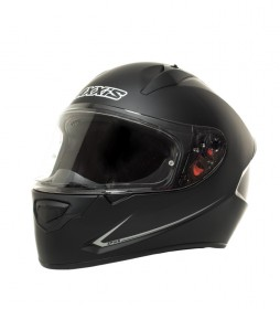 Axxis Full-body black matte Stinger helmet