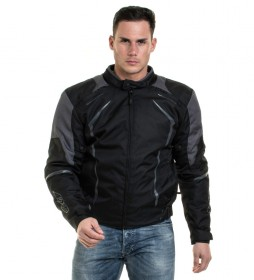 Axxis Jacket AX JR3 Winter Racing black, gray