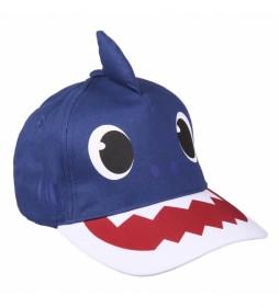 Gorra Premium 3d Baby Shark marino
