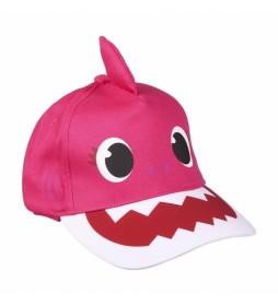 Gorra Premium 3d Baby Shark rosa
