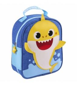 Neceser Comedor Baby Shark azul -19x23x8.5cm-