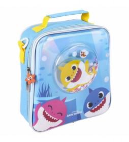Neceser Comedor Confetti Baby Shark azul -22x23x8cm-