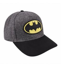 Gorra Premium Batman gris