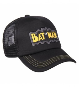 Gorra Premium Batman negro, amarillo