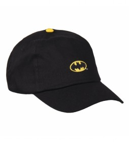 Gorra Premium Bordado Batman negro