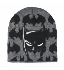Gorro con aplicaciones Batman negro