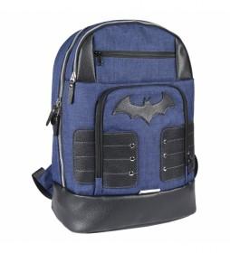 Mochila Casual Viaje Batman azul -33x46x11cm-