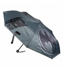 Paraguas Manual Plegable Batman gris