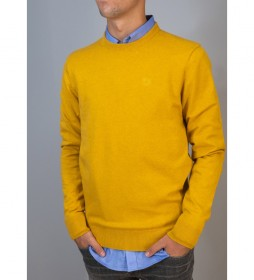 Jersey Cuello Caja Basico amarillo