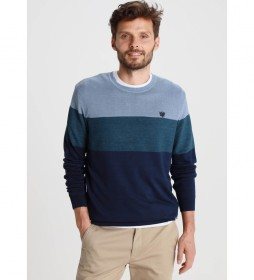 Jersey Tricolor azul