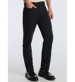Pantalón Twill  negro