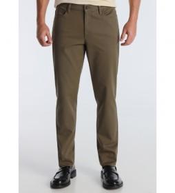 Pantalón Twill  verde