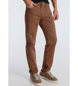 Pantalón Twill  marrón
