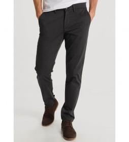 Pantalón Chino  Slim  marrón