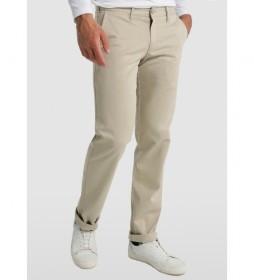 Pantalón Chino Confort Fit beige claro