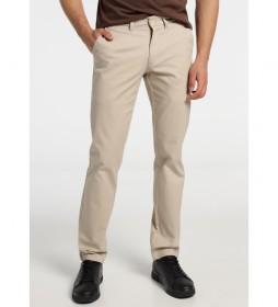 Pantalón Chino Confort Fit beige