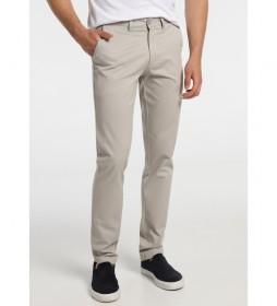 Pantalón Chino Confort Fit gris claro