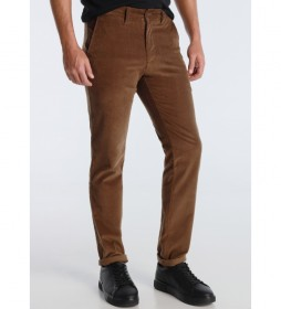Pantalón Chino Corduroy marrón