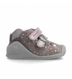 Zapatillas 211114 marrón
