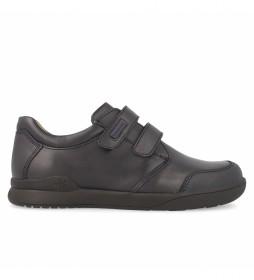 Zapatos de piel 161126 azul marino