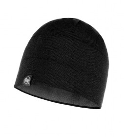Buff Dub reversible knitted hat black, grey / 61g