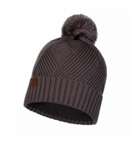 Buff Tricot and Polar hat Raisa brown