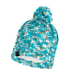 Buff Livy aqua tricot and fleece hat / 54g