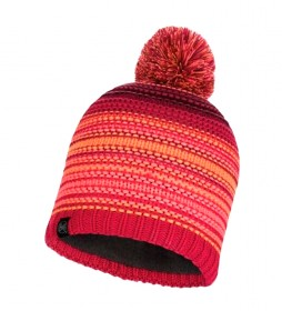 Buff Neper knitted hat and fleece pink / 108g