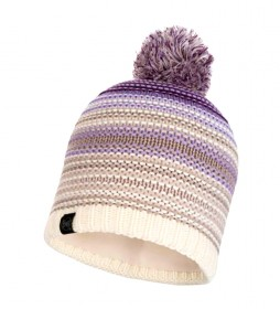 Buff Neper knitted and fleece cap violet / 108g