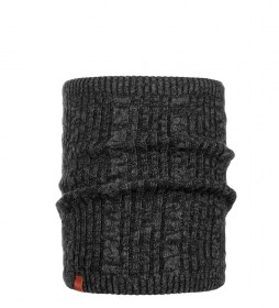 Buff Tubular knit and fleece Comfort Braidy black / 197g