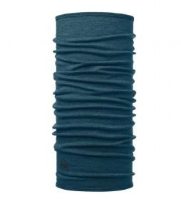 Buff Tubular merino wool Midweight Melange ocean / 66g