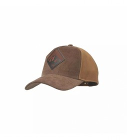 Buff Brown Snapback cap