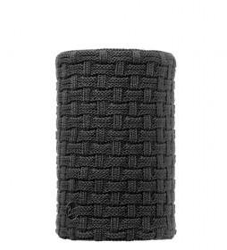 Buff Tubular de punto Arion negro / Primaloft / 28x26cm