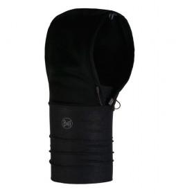 Buff Sweat à capuche coupe-vent noir / 119g / Gore Windstopper / UltraStretch / UPF 50+ / UltraStretch