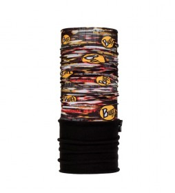 Buff Tubular multifuncional forro polar New Obsession negro, multicolor -UPF +50-